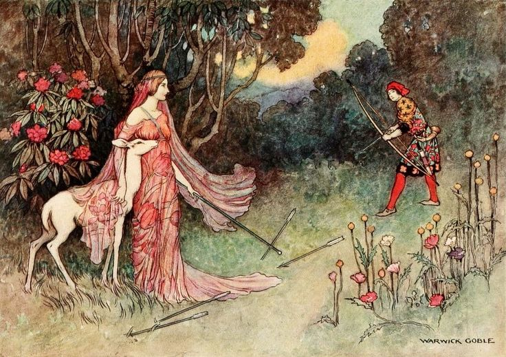 Best Book Illustrations | The Fairy Book, illustrated by Warwick Goble , Published 1913