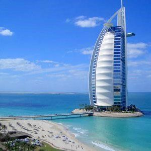 toegepaste kunst, hotel in Dubai. Hele bijzondere architectuur. Daar wil ik wel een nachtje slapen.