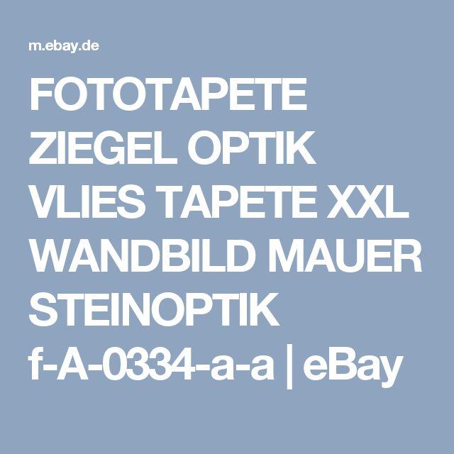 FOTOTAPETE ZIEGEL OPTIK VLIES TAPETE XXL WANDBILD MAUER STEINOPTIK f-A-0334-a-a | eBay
