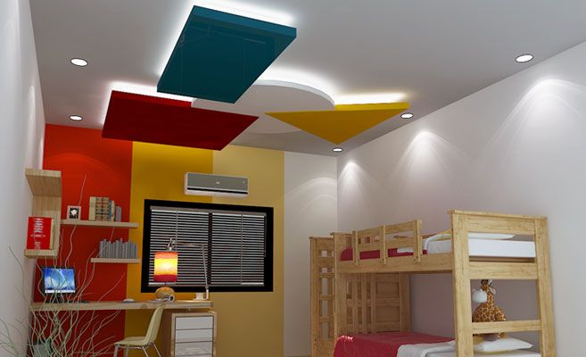 R2 - Ceiling center change white to another color? Saint Gobain Gyproc India | India Gypsum | Drywalls | Ceilings | Plasters