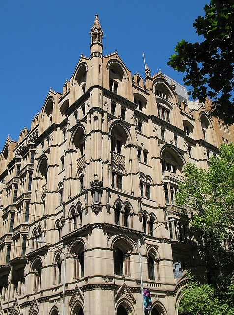 A.C. Goode House, Collins St Melbourne.  Built in 1891  (neo-Gothic)