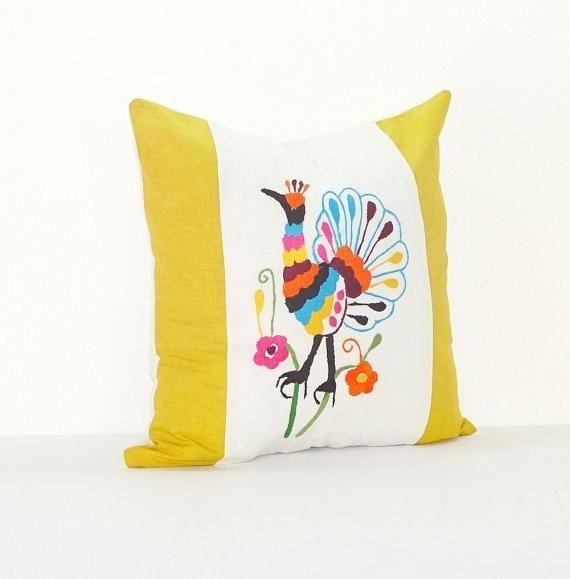 Bohemian Pillows, Otomi cushion cover