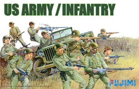アメリカ陸軍歩兵セット (フジミ)