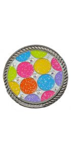Disco Glitzy Kicks Candy Shoe Ball Marker with Swarovski Crystals
