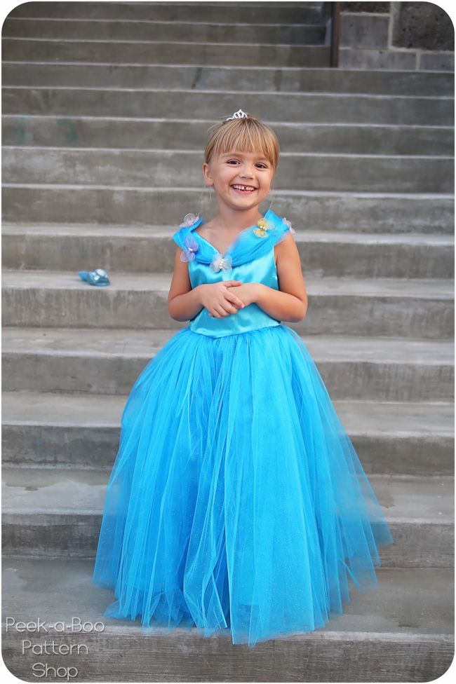 Today I have a FREE Cinderella Dress Sewing Pattern to share with you! When I took my daughter to see the new Cinderella movie earlier this year, she immediately fell in love with her amazing dress! And since I enjoy playing fairy godmother I sewed one up for my little Cinderella. Childhood should be magical Of course it wouldn't be complete without the butterflies! The