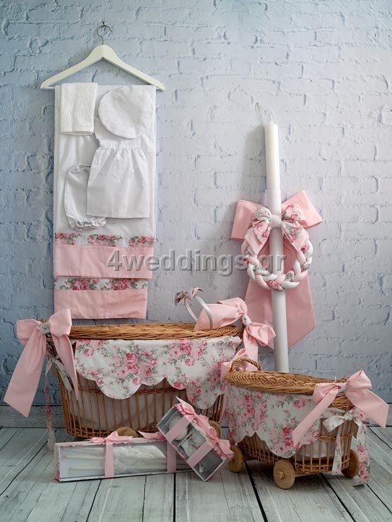 Κουτιά-Λαμπάδες Βάπτισης