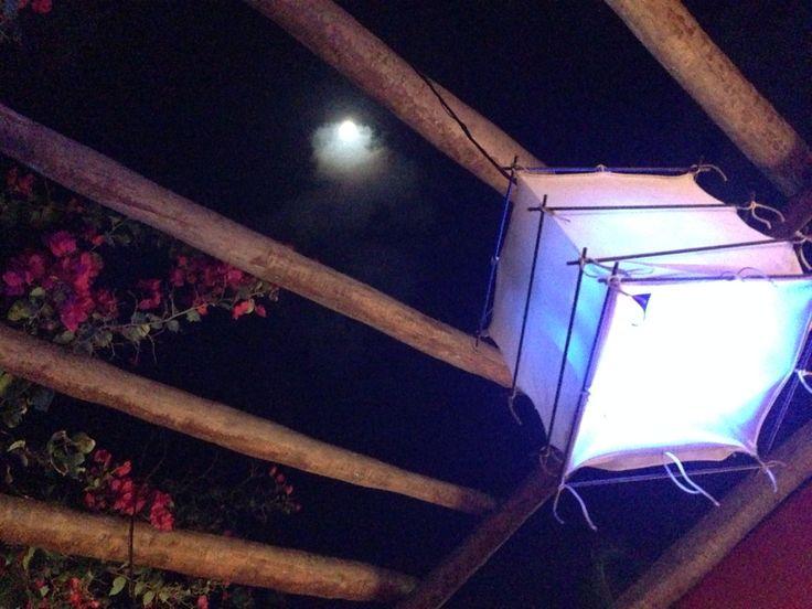 Teto aberto do Restaurante Japonês DECK - Jericoacoara - Fortaleza - Brasil