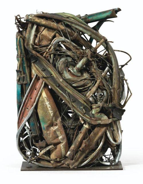 "César Baldaccini [France] (1921-1998) ~ ""Compression... #Conceptual Art #концептуальное искусство #Arte concettuale #Art conceptuel #Arte conceptual #Konzeptkunst ✨ - http://wp.me/p7Gh1Z-Ke #kunst #art #arte #sztuka #ਕਲਾ #konst #τέχνη #アート"
