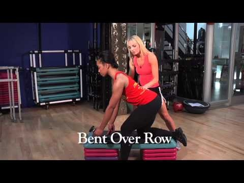 Gold's Gym Express Workout for Your Back - 3 moves moves that target your upper, middle and lower back (with Tracey Malley)