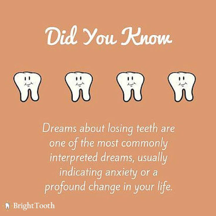 Dreams are serious. Do you have subconscious teeth issues?  #dentalhealth #dental #seo #dentist #oralhealth #oralhygiene #teethwhitening  www.brighttooth.com