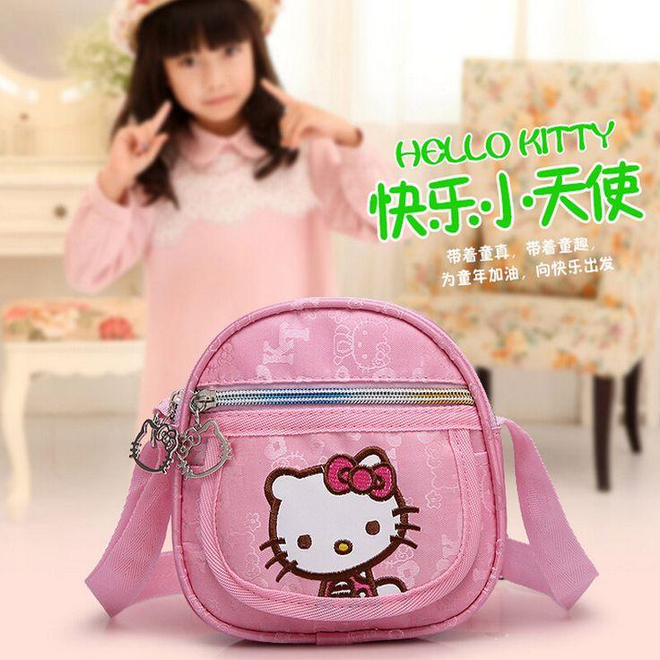 Kindergarten girls Korean Fashion Hello Kitty mini baby bags