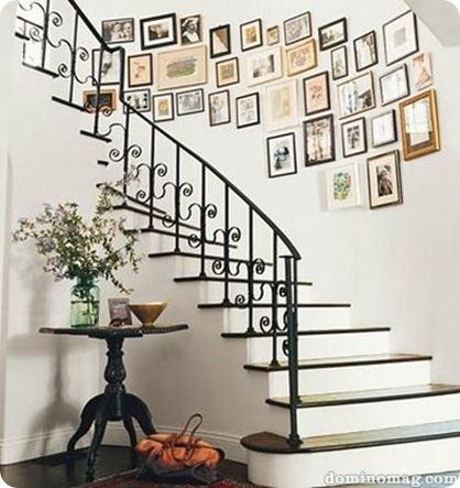 Great ideas for gallery walls