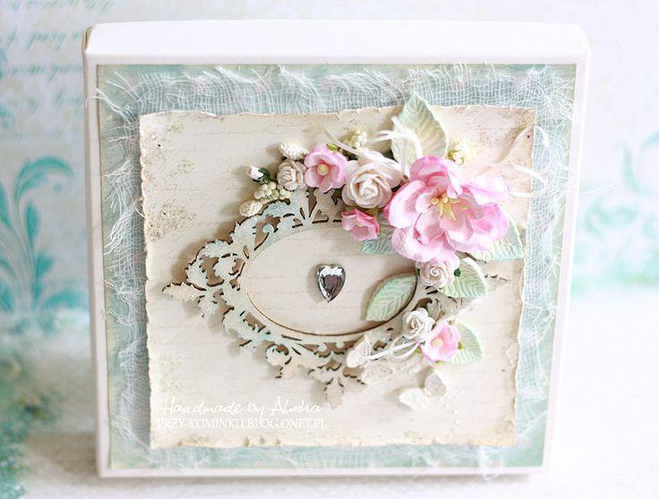 Pudełko na kartkę ślubną