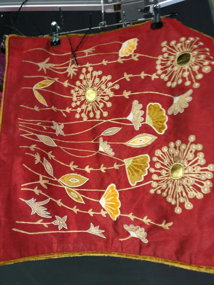 Cushion covers #handmade #applique #red #homedecor #interiors #cushion covers