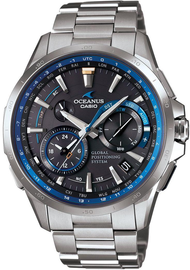 Amazon: [カシオ]CASIO 腕時計 OCEANUS GPSハイブリッド電波ソーラー OCW-G1000-1AJF メンズ: OCEANUS(オシアナス)