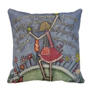 Sun Art Sales Blog: Climb to the threshold Pillow