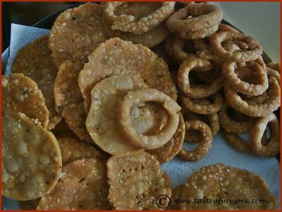 Taste of Mysore: Nippattu