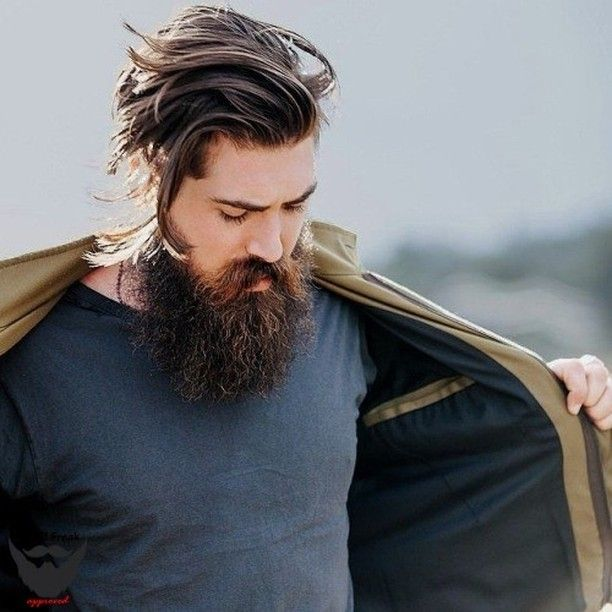 mens popular hair styles 2760 best b e a r d revered 1 images on 2760 | 0518f8f8c1ca0b1784829289d4bb77a5 medium long hairstyles bearded men