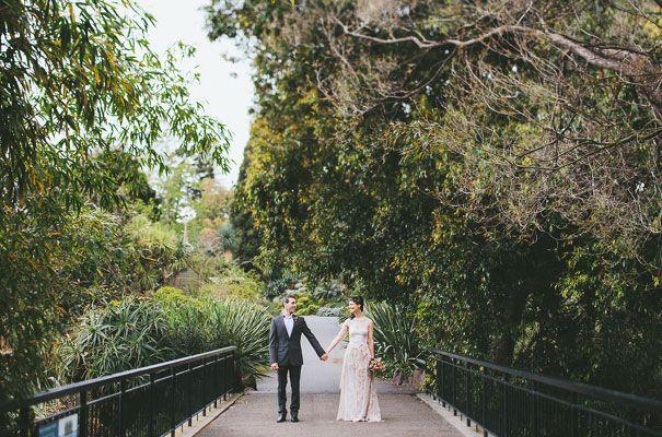 Wedding Shoot at the Royal Botanic Gardens (Source: Eric Ronald via Hello May)