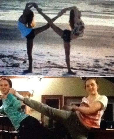 Best friend infinity pose picture