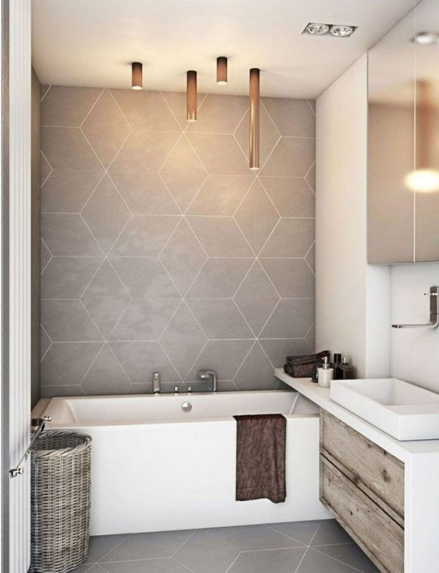 35 Lovely Bathroom Decor Ideas Match With Your Home Design Style Modern Bathroom Decor Modern Bathroom Tile Bathroom Tile Diy