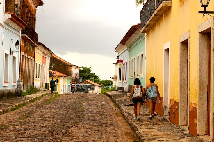 Ruas de Alcântara, Maranhão