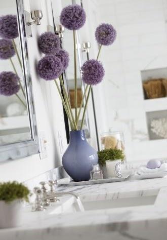 Bathroom Flower Arrangement