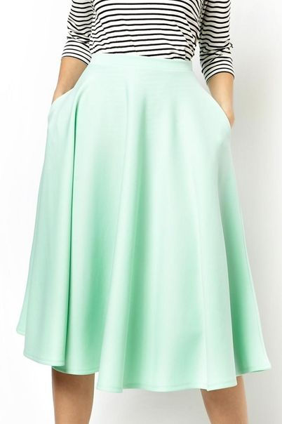 17 Best ideas about Mint Green Skirts on Pinterest | Green skirts ...