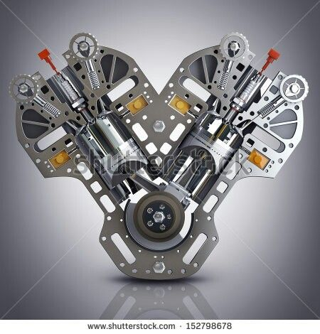 best ideas about car engine engine working piston engine