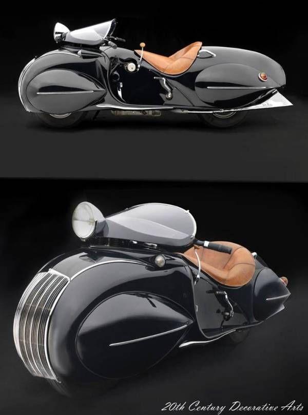 1930年に発売されたバイク