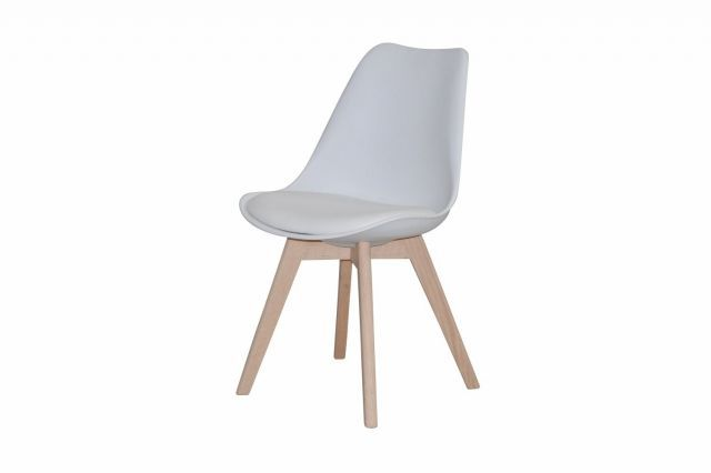 Stil stol - Hvitoljet eik