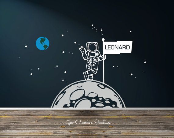 1000 images about space decals on pinterest astronauts for Decor planet