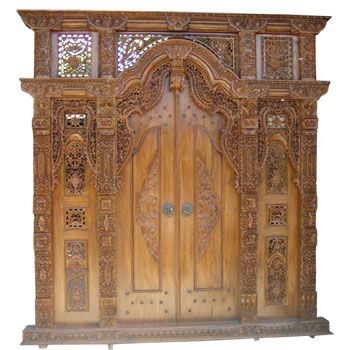 Balinese Carved Door - Bali doors - Bali Handicraft Product | Bali Arts and Crafts