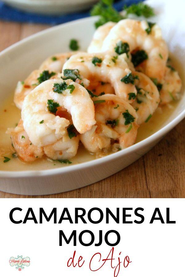 La forma más rápida y sencilla de cocinar camarones. El ajo definitivamente eleva el sabor de los tiernos camarones. Sírvelos sobre pasta o arroz. Una receta de cuaresma muy fácil. Encuentra la receta imprimible en el blog. #recetasconcamarones #camaronesalajillo #recetasdecuaresma Tapas Recipes, Kitchen Recipes, Best Spanish Food, Risotto, Potato Salad, Yummy Food, Favorite Recipes, Ethnic Recipes, Blog