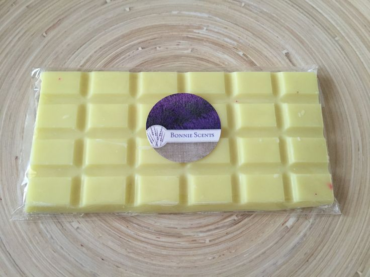 Pineapple & Coconut scented Soy Wax Melt Block, scented soy candle, scented soy tart by BonnieScents on Etsy