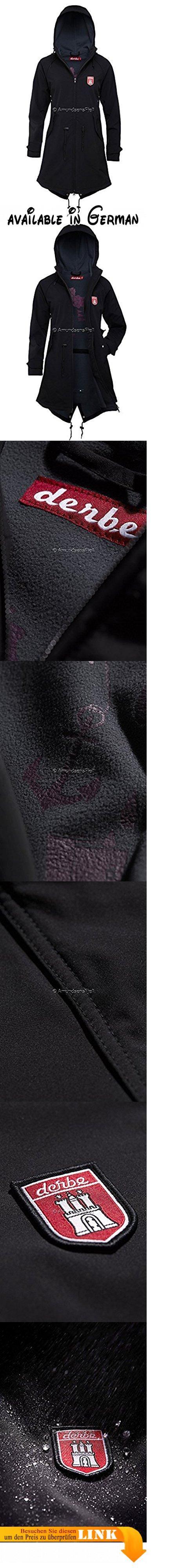 derbe Island Friese Softshelljacke Damen - 36. Material: 93 % Polyester, 7 % Polyurethan. Futter: 100 % Polyester. winddicht und wasserabweisend. atmungsaktiv. Kapuze mit Kordelzug #Apparel #OUTERWEAR