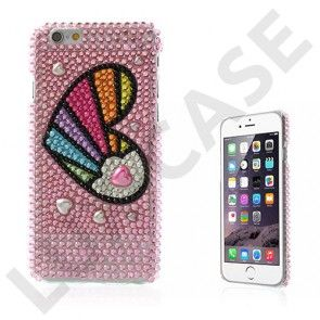 Bling (Farvede Hjerte) iPhone 6 Cover