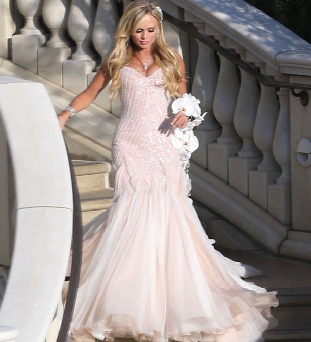 Tamra Barney S Wedding Dress Real Housewives Inspiration Love Their Style Dresses Gowns