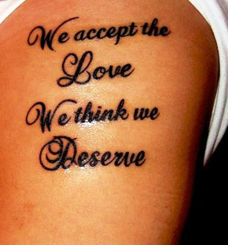 Tattoo Quotes for Men About Love