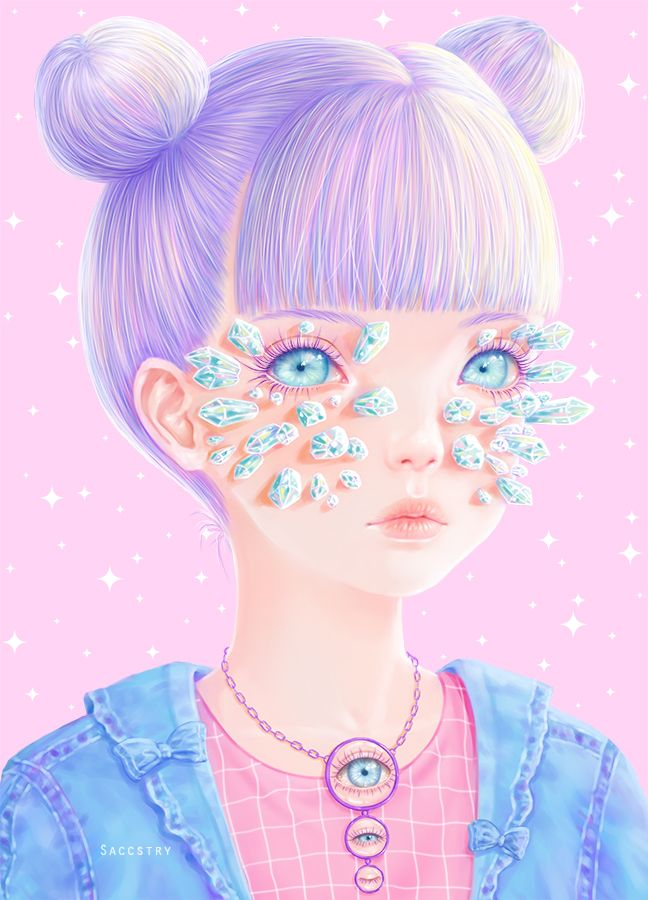 Beautiful and Freaky Illustrations by Saccstry