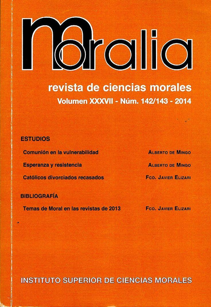 Moralia, Abril-Septiembre 2014.