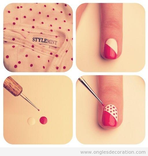 Décoration D'ongles   Nail Art   Dessin sur ongles   Pas à pas - Part 5   Dessins sur les ongles