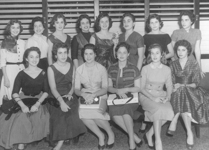 Miramar Cuba party Yacht Club 1950's