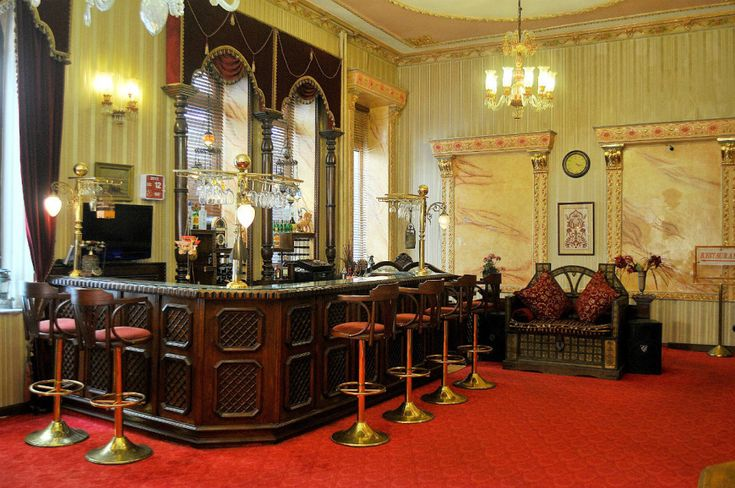 The bar at the Grand Hotel de Londres 9 amazing under-the-radar spots to hit in Istanbul