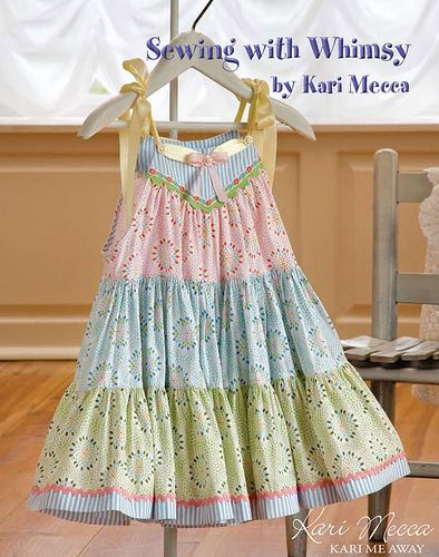 Spring Fling Dress | from the book Sewing with Whimsy by Kar… | Kari Mecca | Flickr