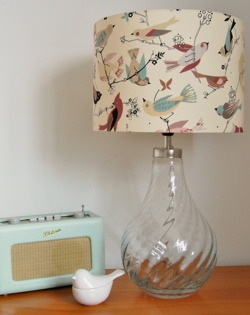 June Song Tea Lampshade by Quincy Lampshades ~ love this!