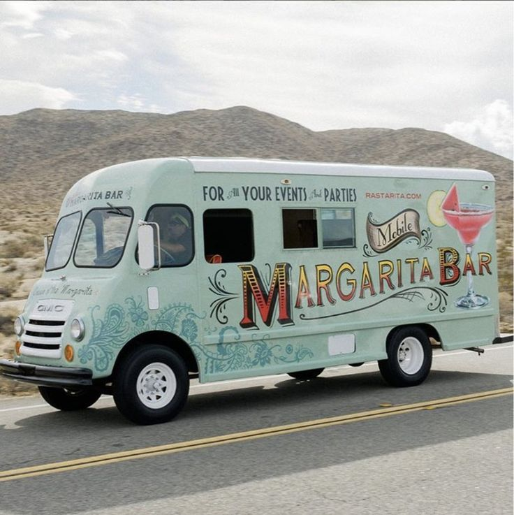 Rasta Rita mobile margarita truck.