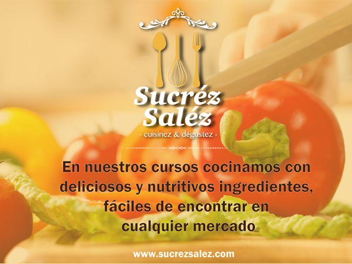 Nuestros cursos de cocina están pensados con ingredientes nutritivos, deliciosos y fáciles de comprar en cualquier mercado cerca a tu casa.  Estamos cerca a nuestra gran inauguración 09 de marzo de 2015