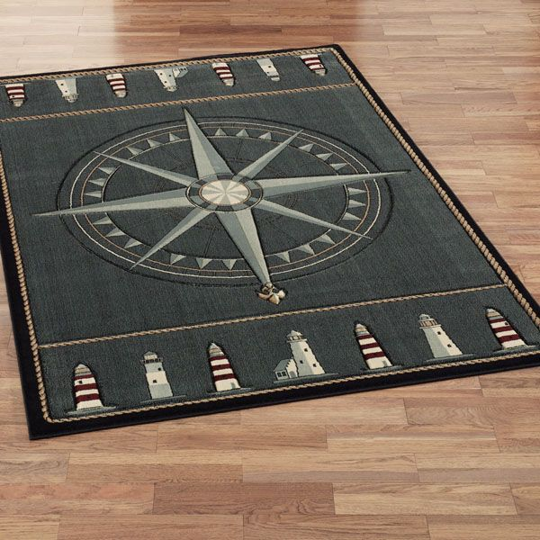 Nautical Compass Rose Rug: 1000+ Ideas About Nautical Rugs On Pinterest