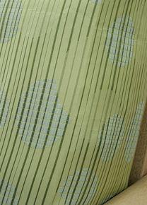 Strobe Mist Futon Cover Features Checkered Semi Circles In